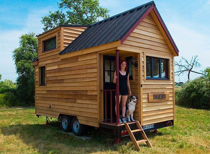 Небольшие мобильные дома на колесах