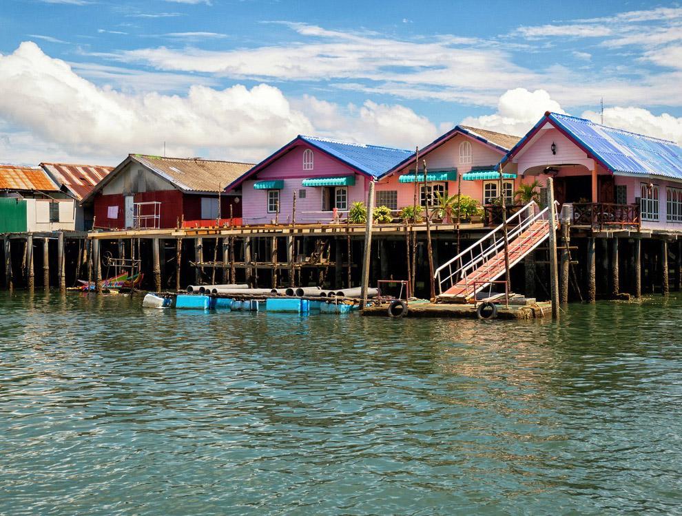 Ко Паньи - плавучая деревня на воде в Таиланде