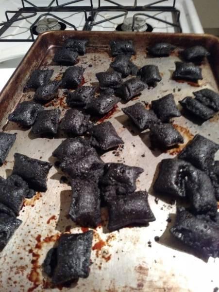 Небольшие кухонные неудачи и казусы