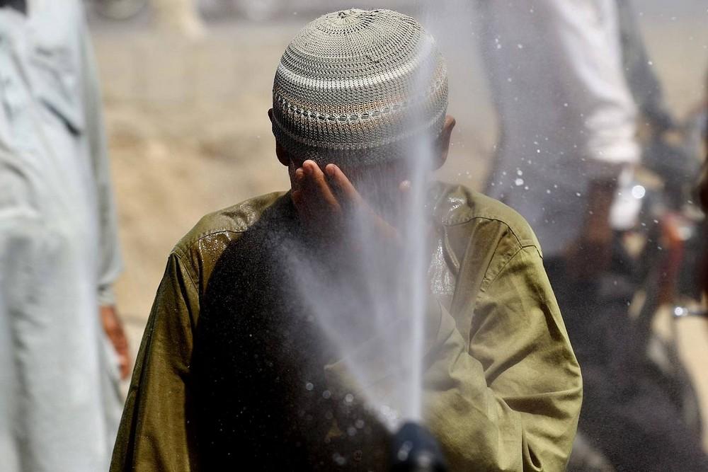 Аномальная жара в Пакистане