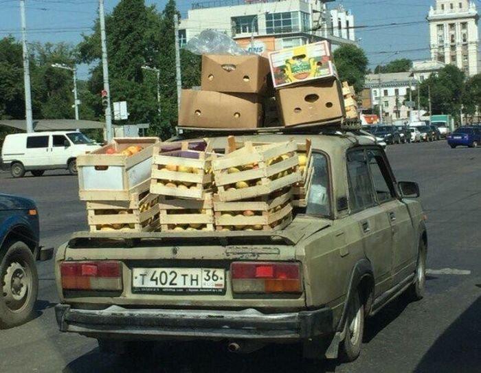 Безумные перевозки грузов своими силами