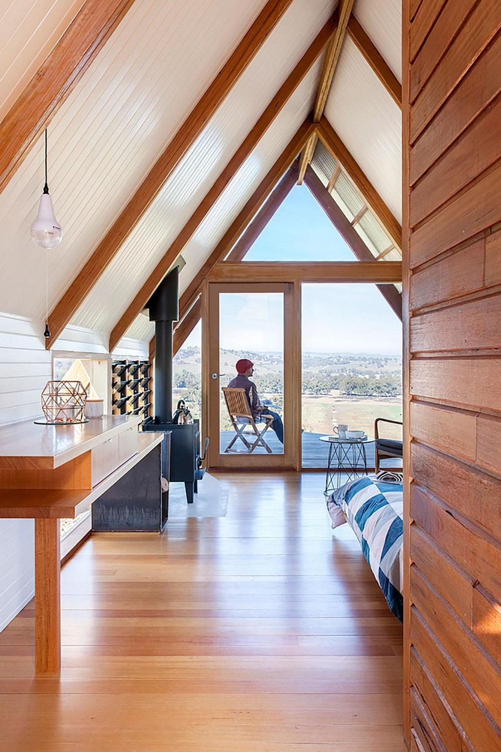 Домик-палатка в Австралии