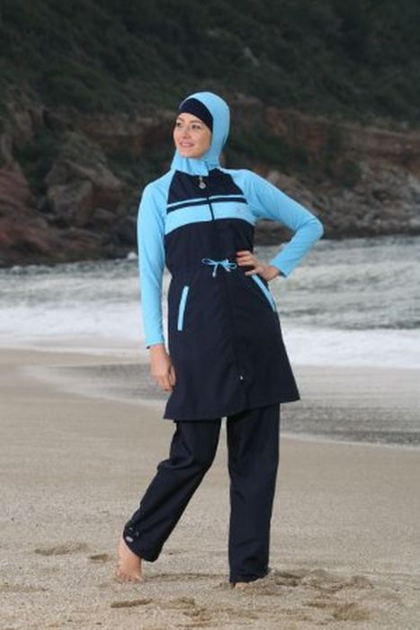 Пляжные наряды мусульманок