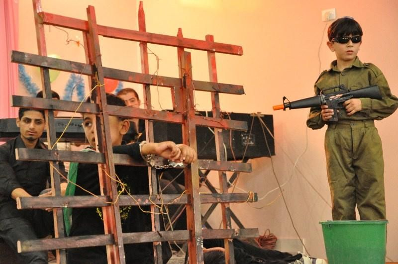 Военный утренник в палестинском детском саду