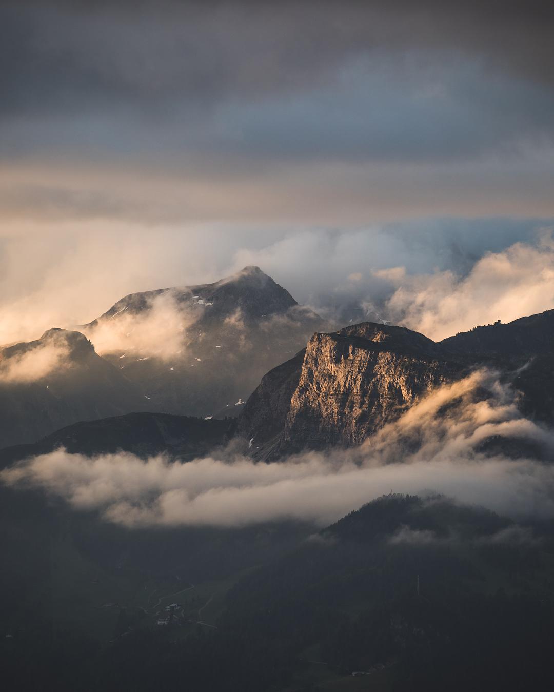 Красота горных пейзажей от Тома Клокера