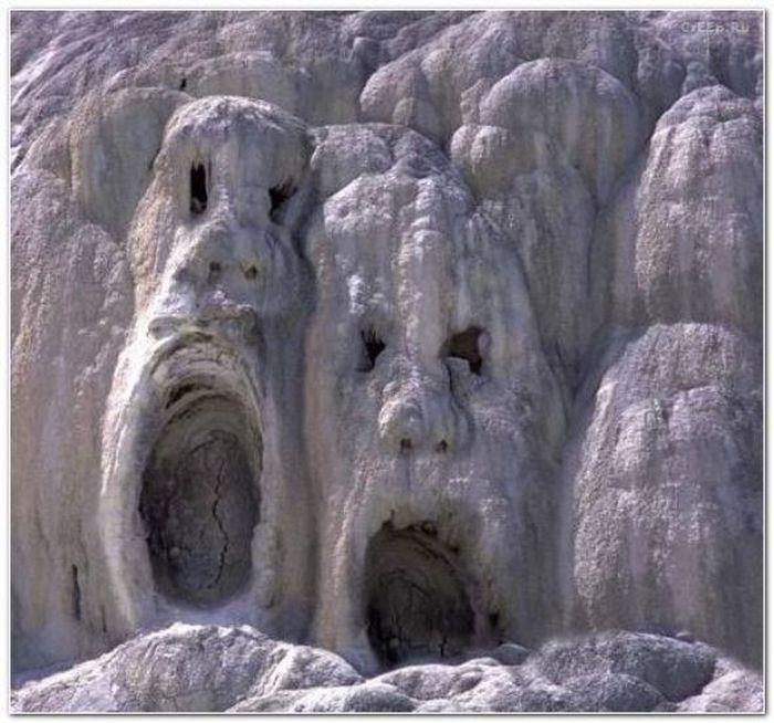 Удивительные формы в природе