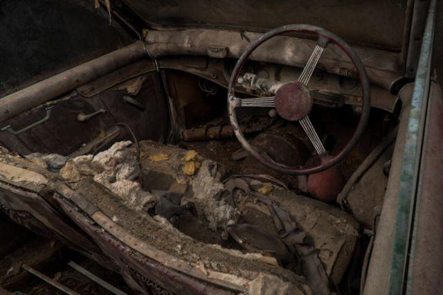 В Нью-Йорке нашли три забытых раритетных авто