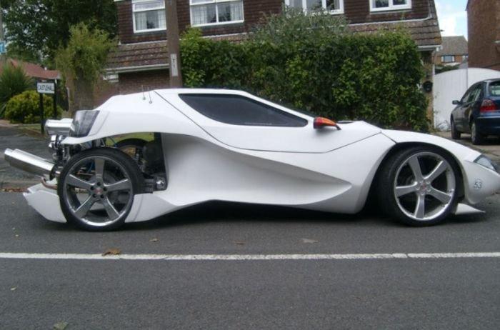 Уникальный спортивный автомобиль