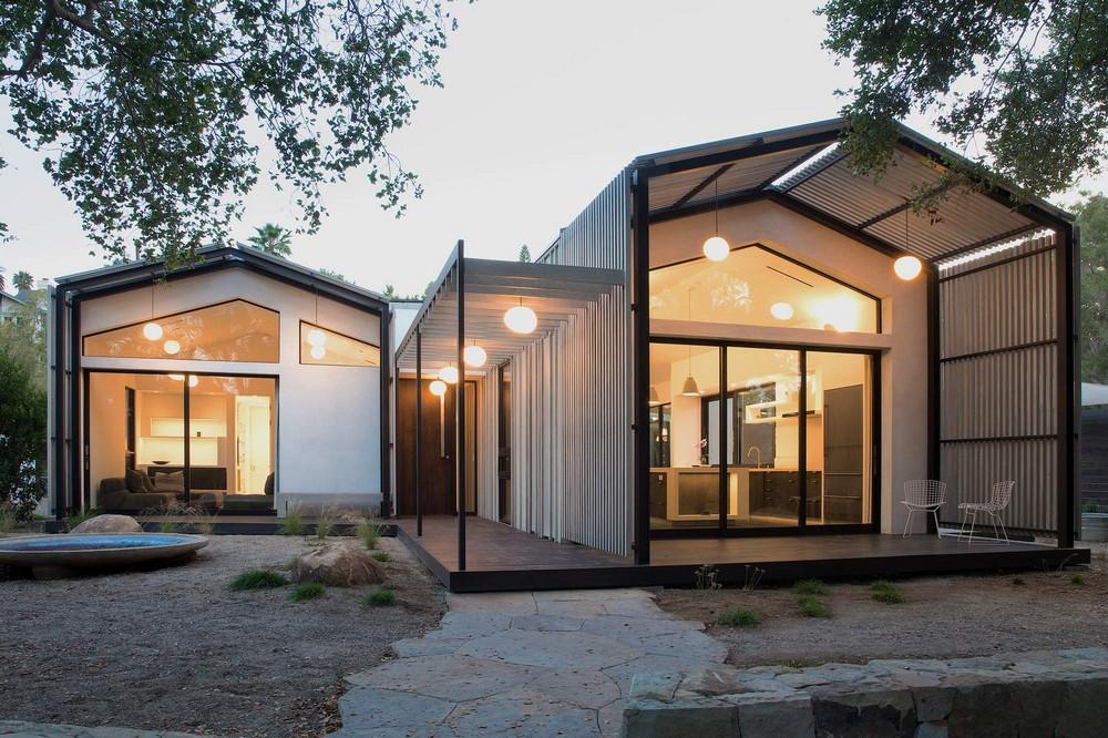 Небольшой уютный дом в городе Санта-Барбара