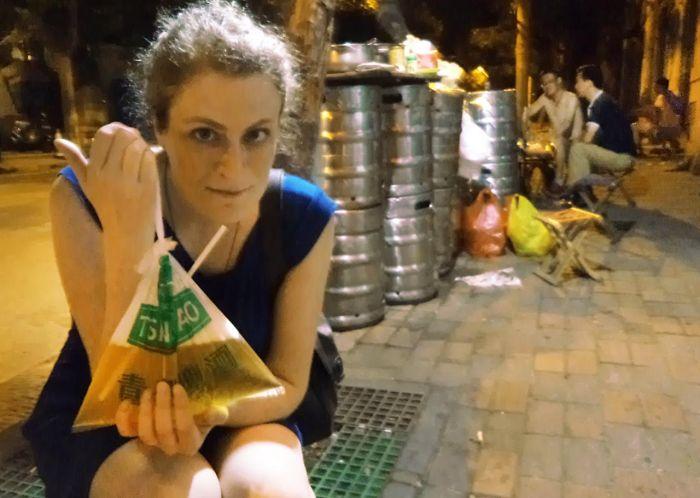 Пакетированное пиво в Китае
