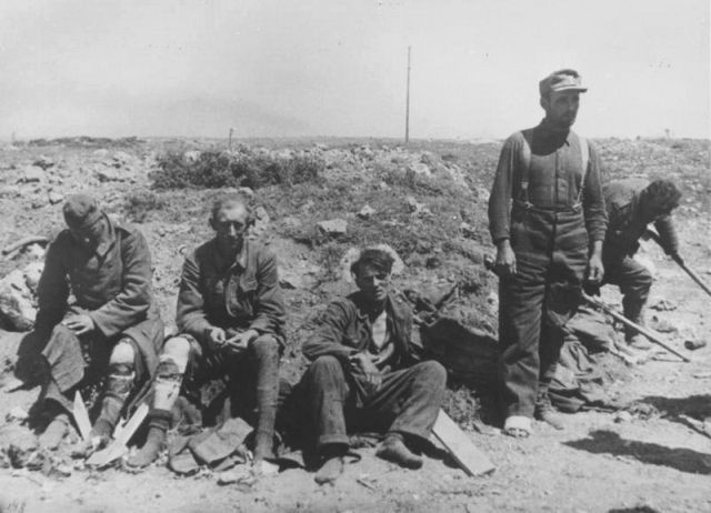 Великая отечественная война от советского фотографа Валерия Фаминского
