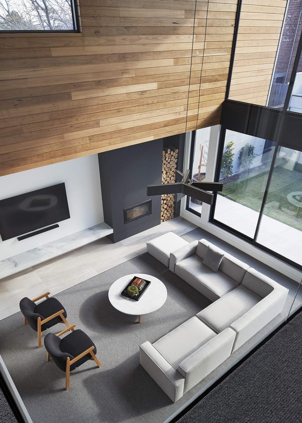 Семейный двухэтажный дом в Австралии