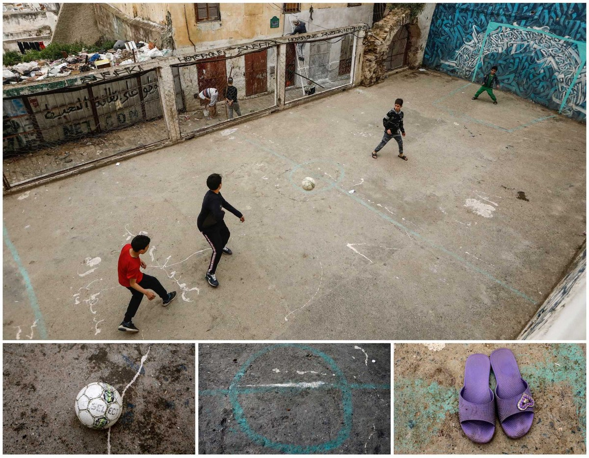 Где, чем и в чем люди играют в футбол