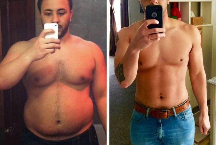 Преображения людей: до и после