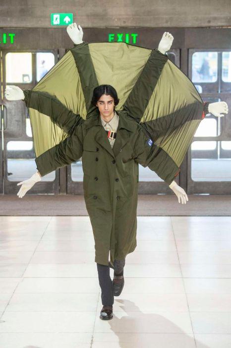 Безумная мужская мода от китайского дизайнера Ксандера Чжоу