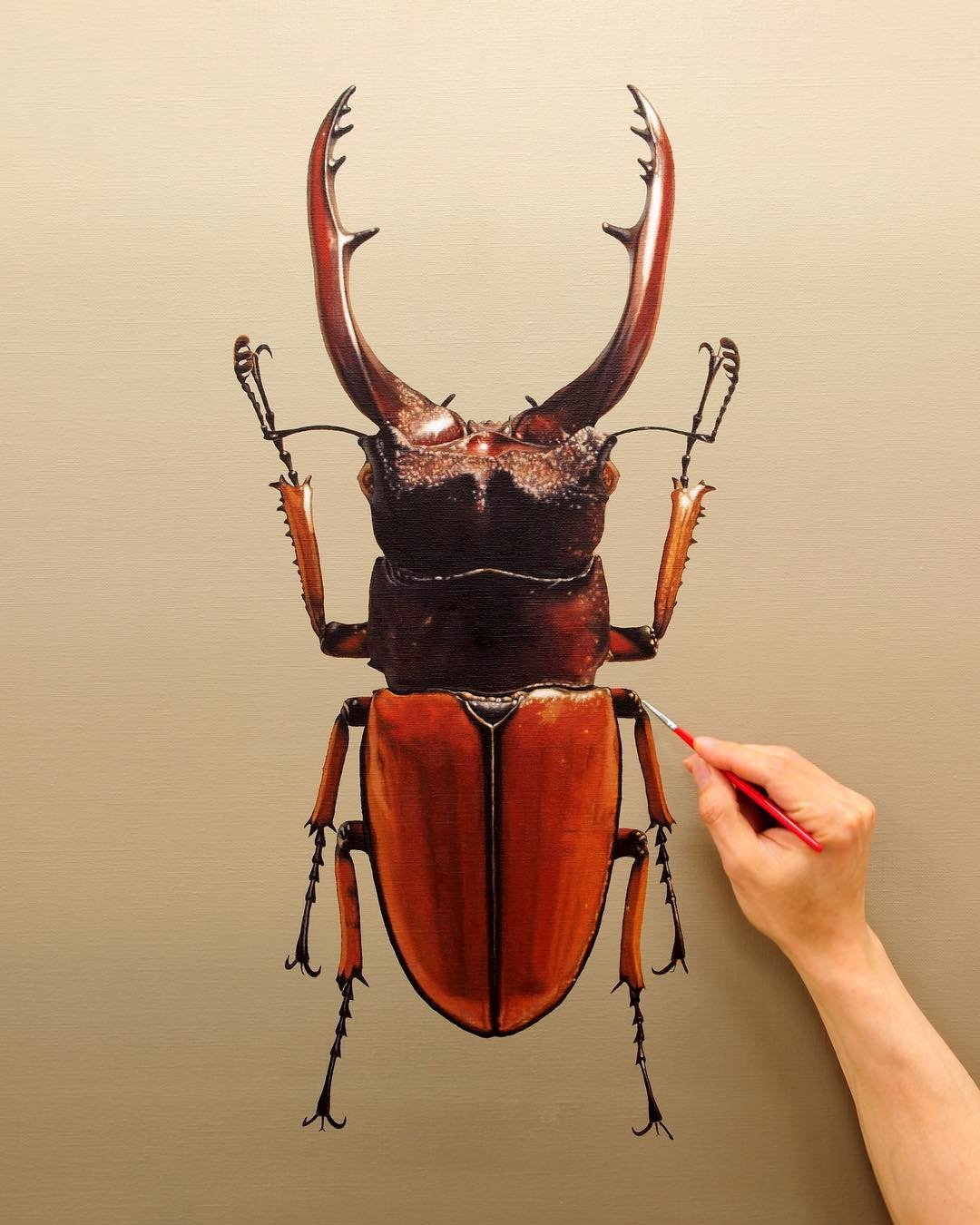 Гиперреалистичные картины от Ёнсун Кима