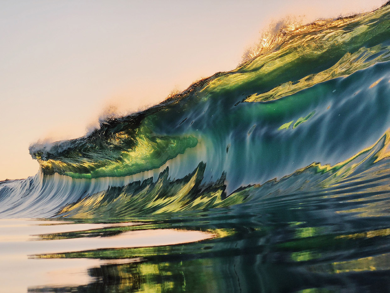 Красота волн в фотографиях Райана Пернофски