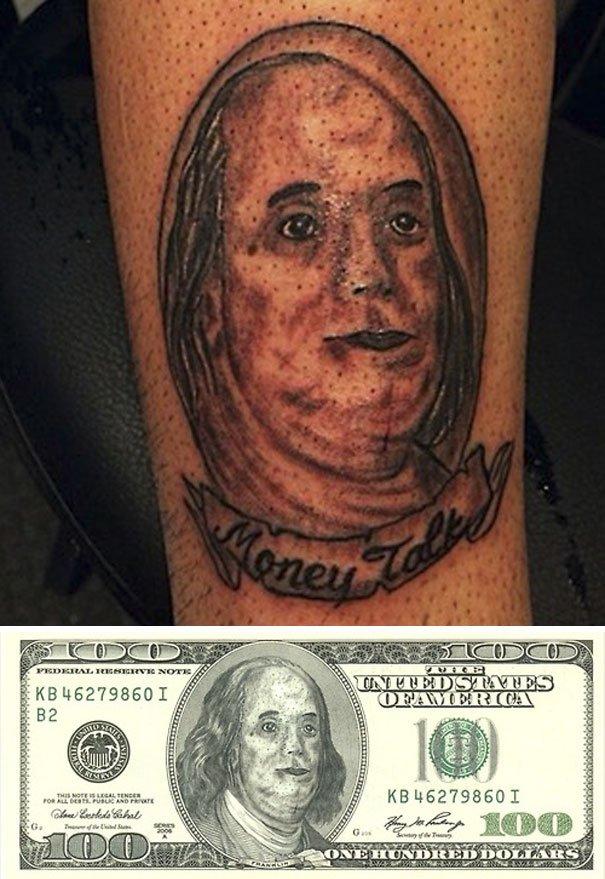 Неудачные татуировки