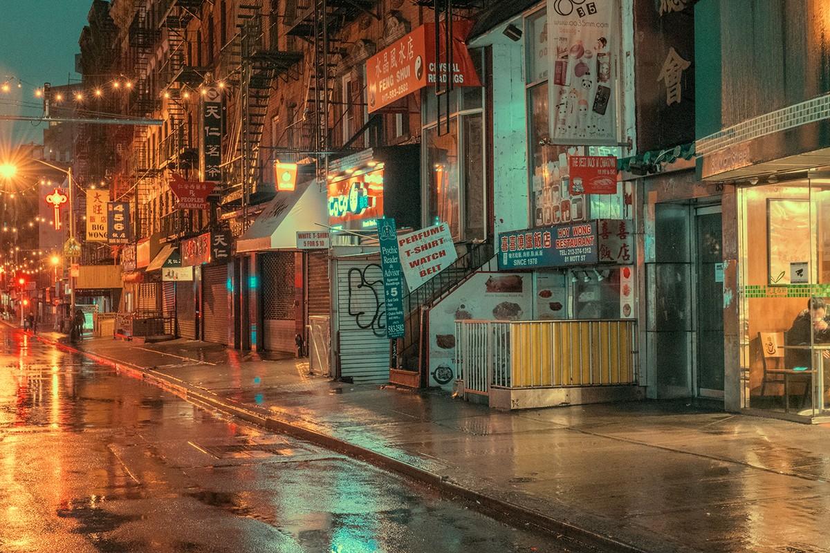 Нью-Йорк на удивительных снимках Людвига Фавра