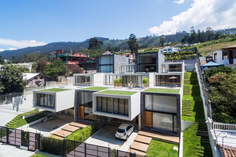 Жилой комплекс из четырех домов в Эквадоре