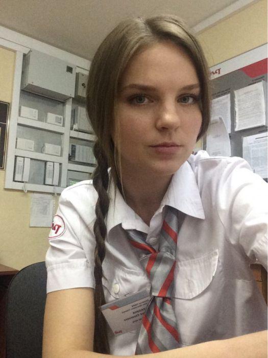 Симпатичные девушки, которые работают на РЖД