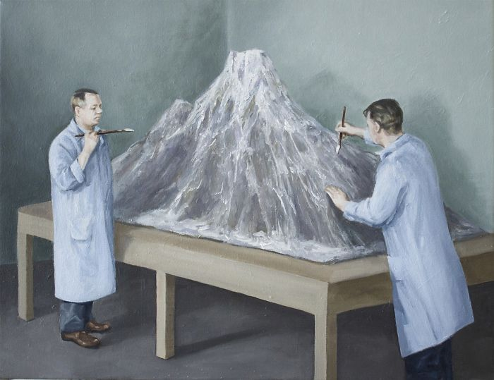 Связь человека и природы в сатирических рисунках Тони Хамель