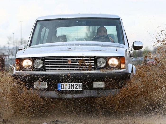 Monteverdi Safari - Rolls-Royce среди внедорожников 70-х