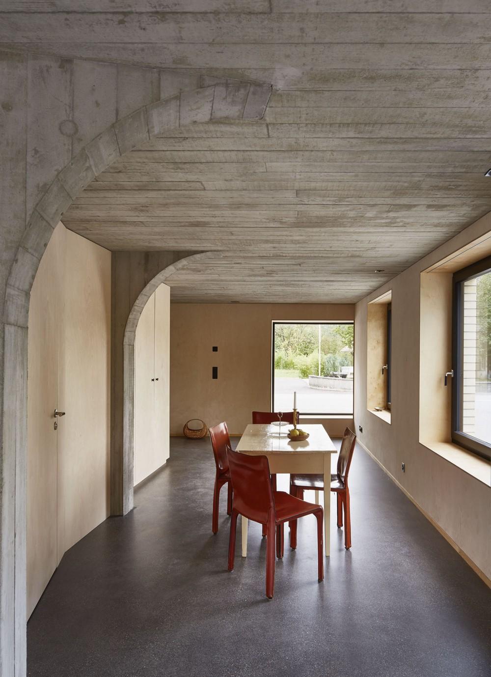 Преобразование старого сарая в Швейцарии