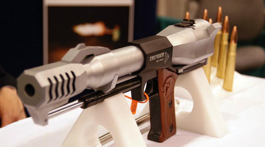 Самые большие и мощные пистолеты мира