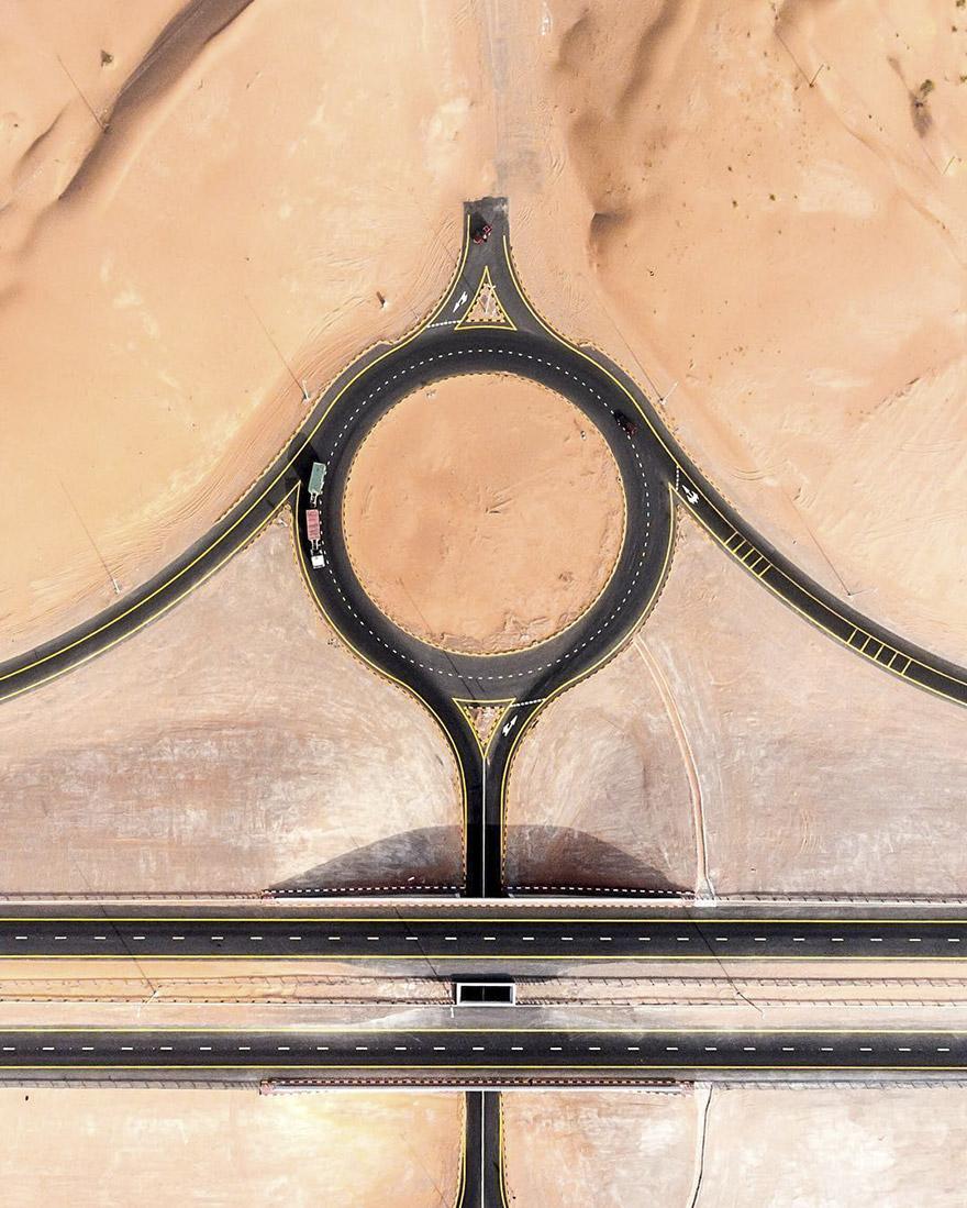 Пески Дубая преображают местные ландшафты