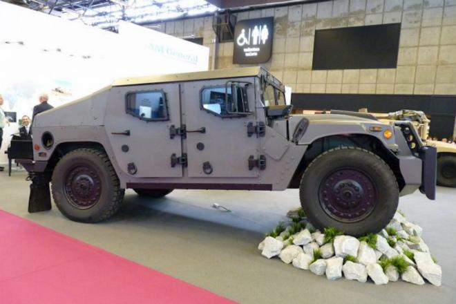 Новый Хаммер Humvee NXT 360