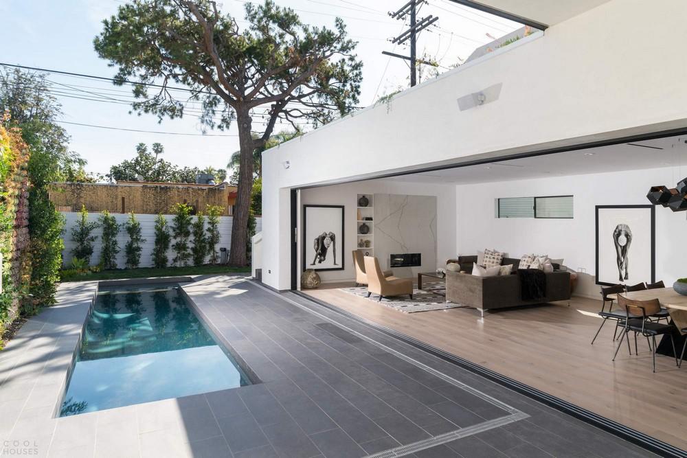 Семейная резиденция с садом на крыше в Лос-Анджелесе