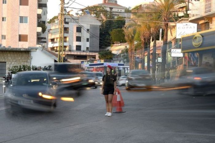 Летняя форма девушек-полицейских в Ливане