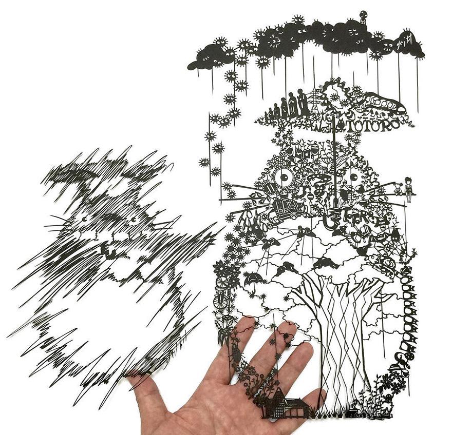 Мастера фигурной резьбы по бумаге и их шедевры