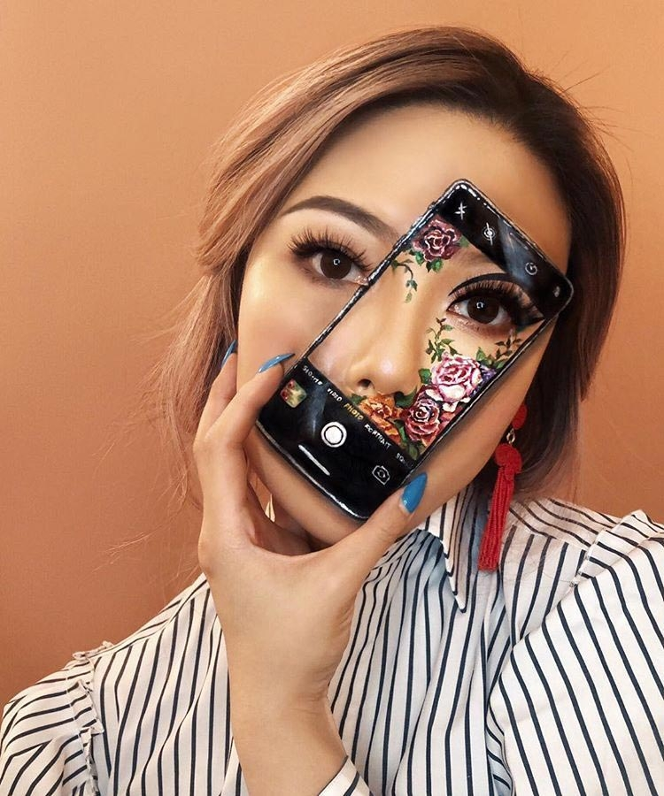 Новые оптические иллюзии на лице от визажиста Мими Чой