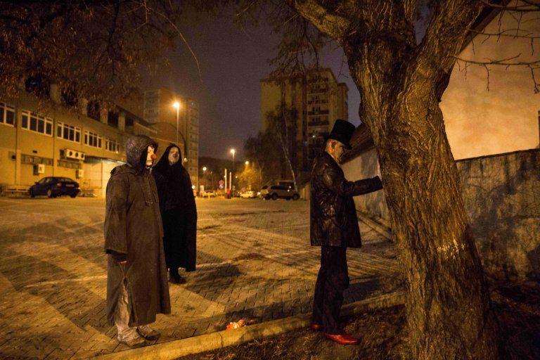 Сатанисты разрешили фотографу снять происходящее в их храме