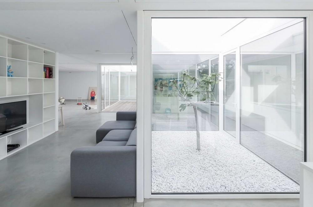 Белый дом в Бельгии