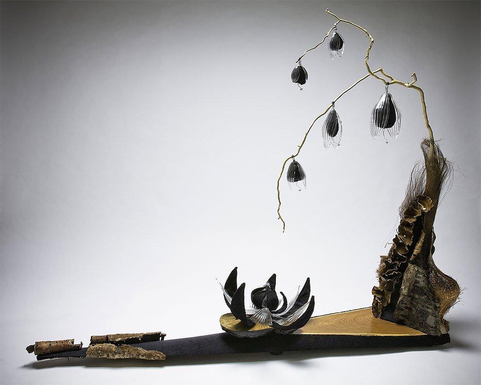 Природные стеклянные скульптуры от Жули Гонс