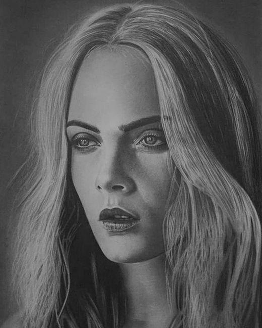 Реалистичные портреты от необычного художника