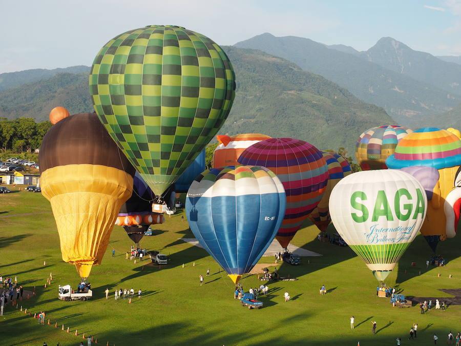 Международный фестиваль воздушных шаров в Тайване
