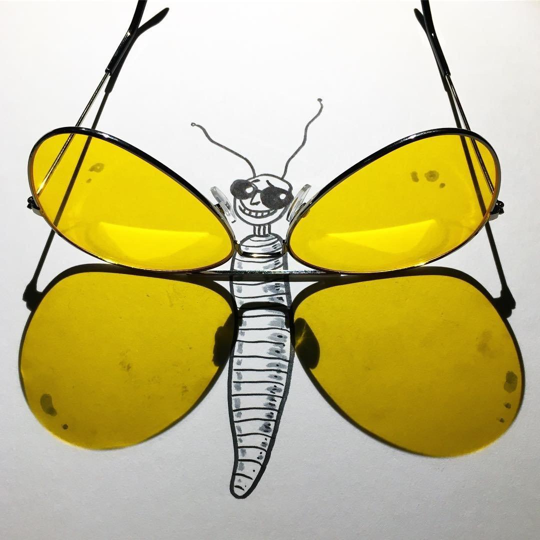 Новые рисунки с тенями от Винсента Баля