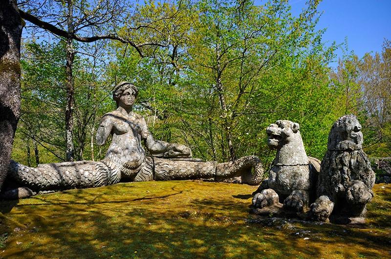 Парк с сюрпризом – Сад чудовищ в Италии