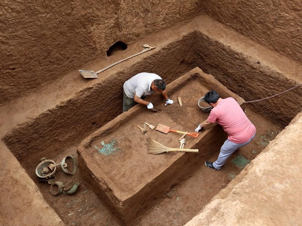 В Китае нашли древние гробницы королевской семьи