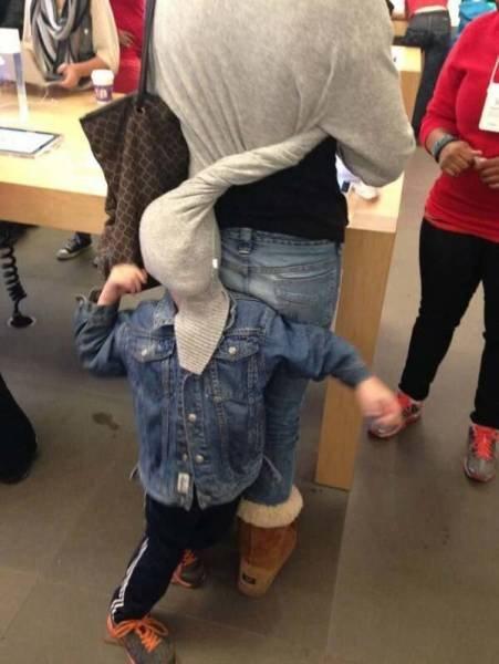 Дети, которые не любят ходить по магазинам
