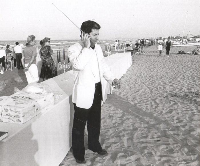 Жизнь пляжного курорта Римини в Италии 80-90-х