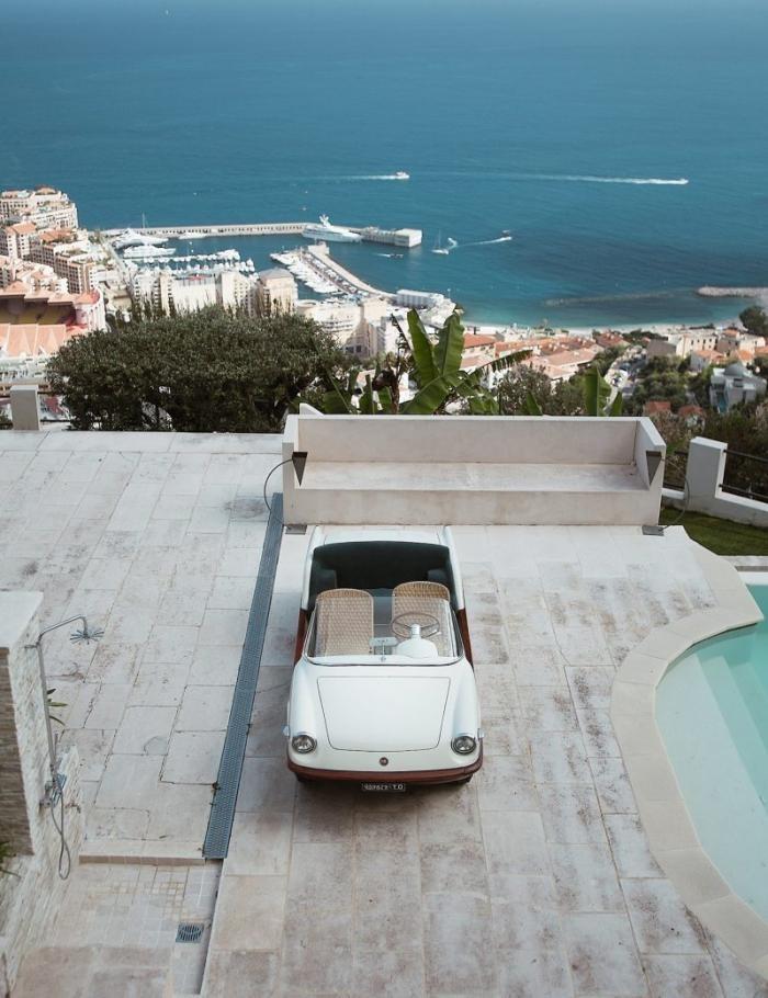 Fiat 500 Spiaggina - пляжный автомобиль для магната