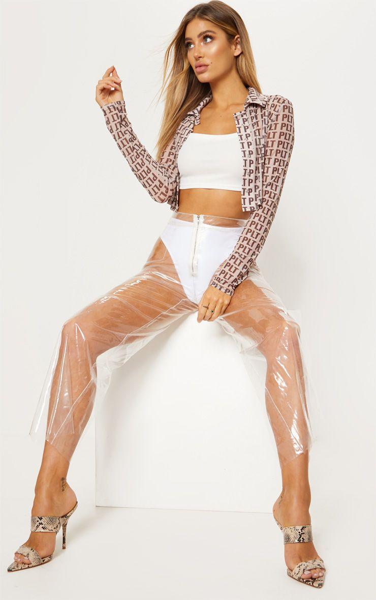 Прозрачные штаны для девушек