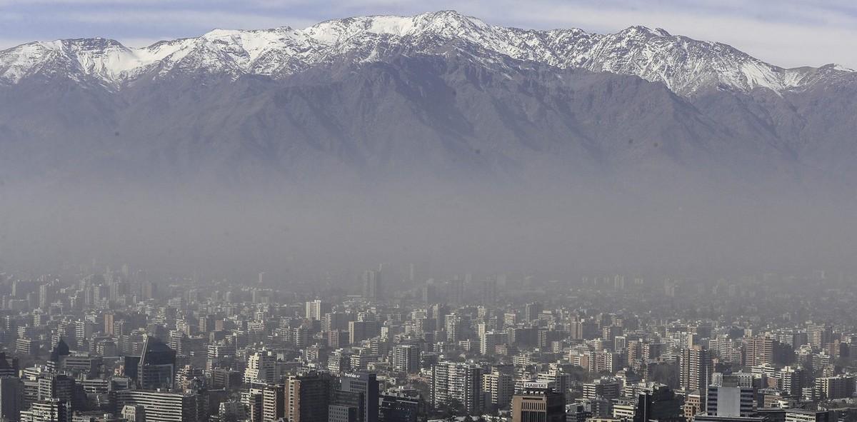 Загрязнение воздуха в Сантьяго