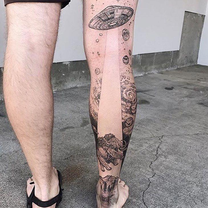 25 небанальных татуировок