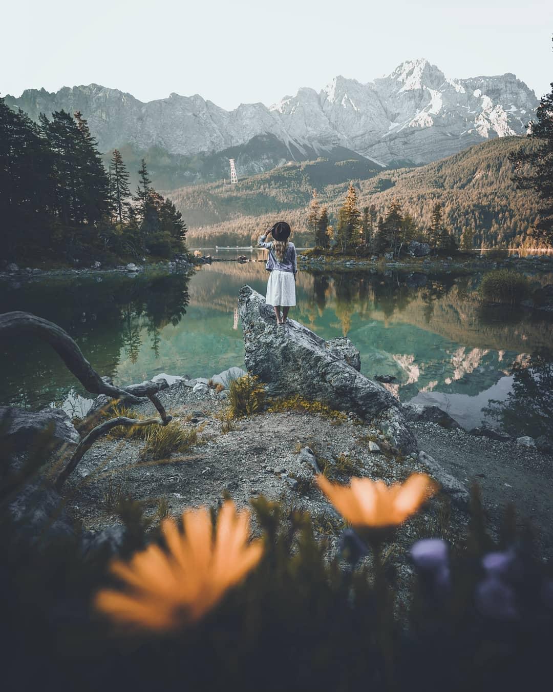 Пейзажи и приключения на снимках Марселя Зиберта